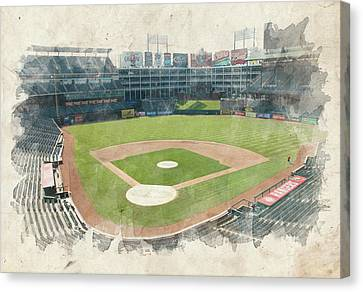 The Ballpark Canvas Print