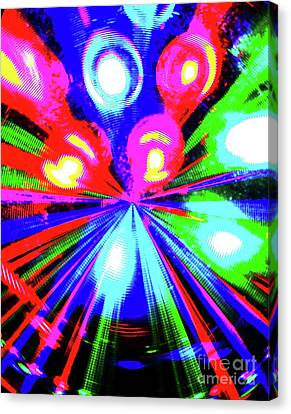 The Bang Canvas Print by Jesse Ciazza