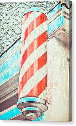 The Barber Canvas Print