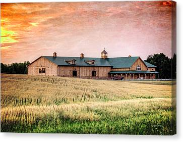 The Barn II Canvas Print by Everet Regal