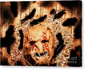 The Barn Monster Canvas Print by Jorgo Photography - Wall Art Gallery