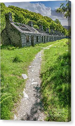 The Barracks Canvas Print by Adrian Evans