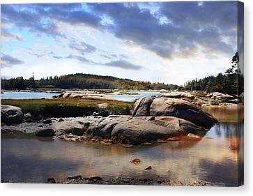 The Basin, Vinalhaven, Maine Canvas Print