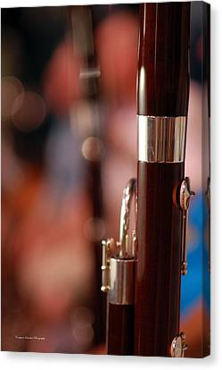 The Bassoon Section Canvas Print by Constance Sanders