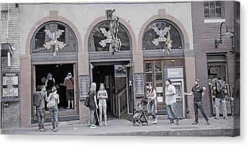 The Bat Bar Austin Texas Canvas Print