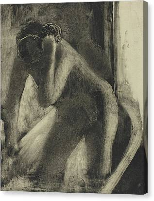 The Bath Canvas Print by Edgar Degas