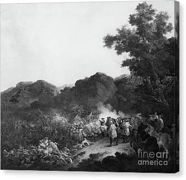 The Battle Of Lens Canvas Print