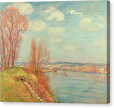 The Bay And The River Canvas Print
