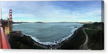 The Bay Canvas Print by Sierra Vance