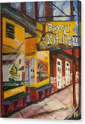 The Bayou Kitchen Canvas Print