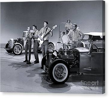 Sullivan Canvas Print - The Beach Boys Perform I Get Around On The Ed Sullivan Show by The Titanic Project