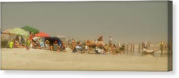 The Beach Canvas Print by Janal Koenig