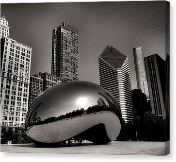 The Bean - 4 Canvas Print by Ely Arsha