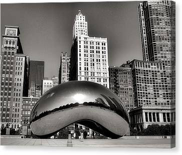 Cloud Gate Canvas Print - The Bean - 3 by Ely Arsha