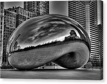 The Bean Canvas Print by Jeff Lewis