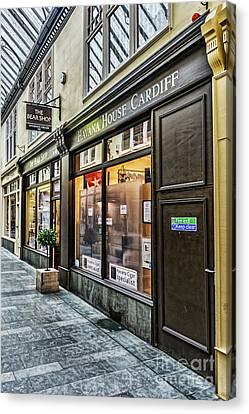 The Bear Shop Canvas Print by Steve Purnell
