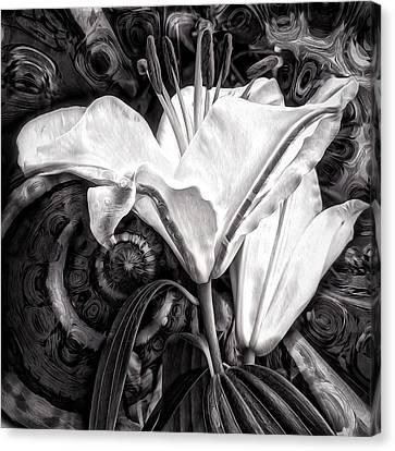 The Beast Canvas Print by Gabriella Weninger - David