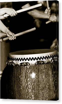 The Beat Of Another Drum Canvas Print by Edward Myers