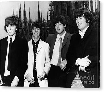 The Beatles, 1960s Canvas Print by Granger