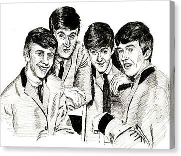 The Beatles 1963 Canvas Print