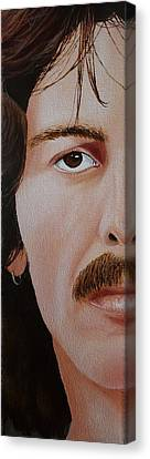 The Beatles George Harrison Canvas Print by Vic Ritchey