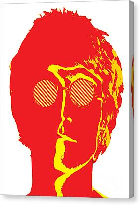 The Beatles No.09 Canvas Print by Caio Caldas
