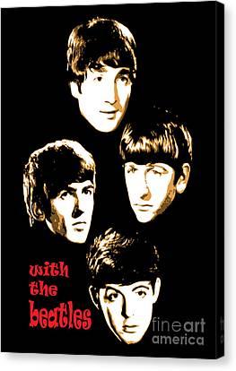 The Beatles No.20 Canvas Print by Caio Caldas