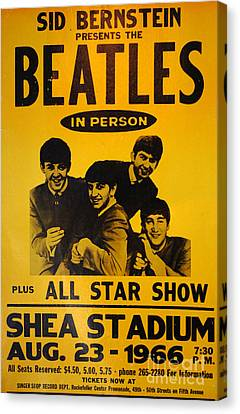 The Beatles Poster Collection 7 Canvas Print by Bob Christopher