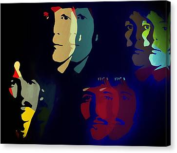 Abbey Road Canvas Print - The Beatles Psychedelic by Dan Sproul