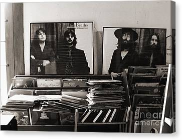 The Beatles Yesterday Canvas Print by Anna Payne