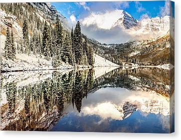 The Beautiful Bells - Aspen Colorado Canvas Print by Gregory Ballos