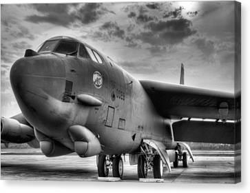 The Beautiful Buff Bw Canvas Print by JC Findley