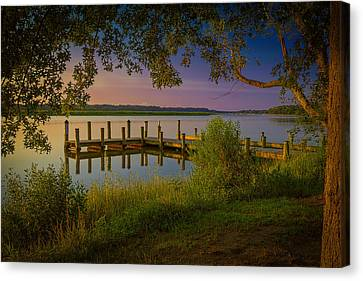 The Beautiful Patuxent Canvas Print