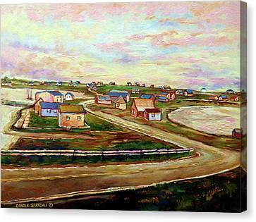 Bluenose Canvas Print - The Beautiful Skies Of Prince Edward Island by Carole Spandau