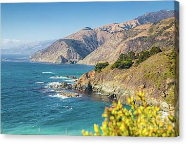 The Beauty Of Big Sur Canvas Print by JR Photography
