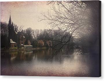 The Beauty Of Brugge Canvas Print by Carol Japp
