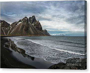 Canvas Print featuring the photograph The Beauty Of Iceland by Sandra Bronstein