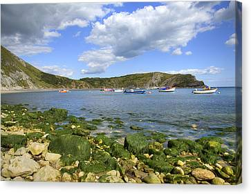 Canvas Print featuring the photograph The Beauty Of Lulworth Cove by Ian Middleton