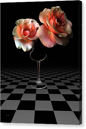 The Beauty Of Roses Canvas Print