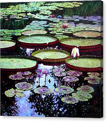 The Beauty Of Stillness Canvas Print