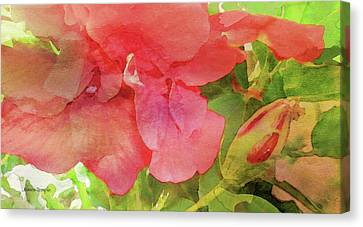 Canvas Print - The Beauty Of Summer Digital Watercolor by James Temple