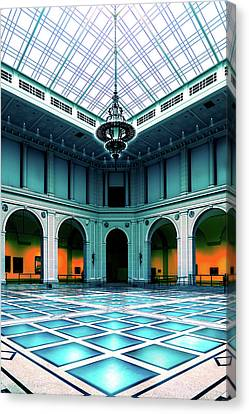 Canvas Print featuring the photograph The Beaux-arts Court by Chris Lord