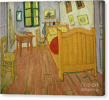 Table Canvas Print - The Bedroom by Vincent van Gogh