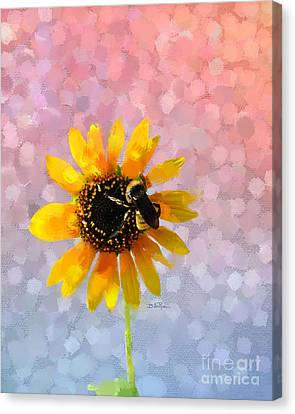Canvas Print featuring the photograph The Bee's Knees by Betty LaRue