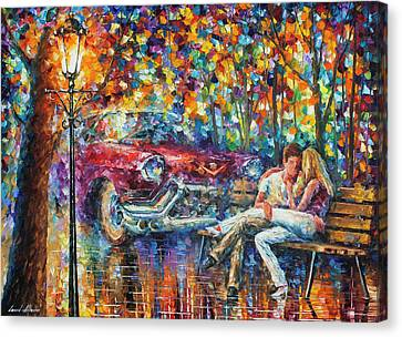 Canvas Print -   The Begining 1959 by Leonid Afremov