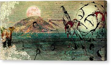 The Beginning  Canvas Print by Mark M  Mellon