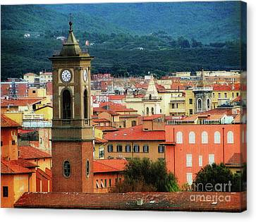 The Bell Tower Canvas Print by Sue Melvin