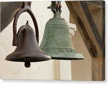 The Bells Of Mission San Rafael Canvas Print by Art Block Collections