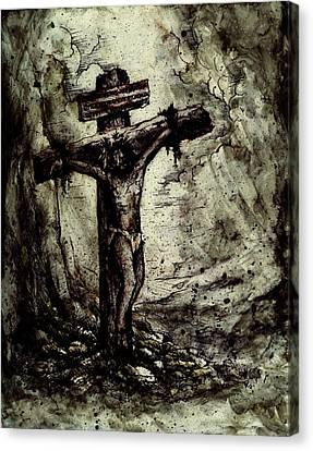 The Beloved Son Canvas Print by Rachel Christine Nowicki