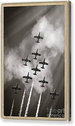 The Best Aerobatic Team Canvas Print by Stefano Senise